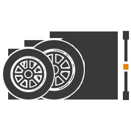 Reifenverkauf für gängige Größen und Marken