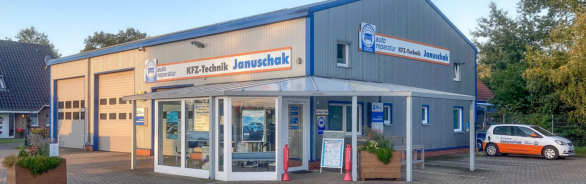 Kfz-Werkstatt Januschak Aussenaufnahme